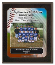 sports individual team plaques for displaying on your wall des